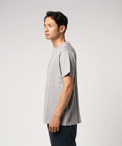 [L&HARMONY / エルアンドハーモニー]ハイクルーネックプリントTシャツ'KOBAN'