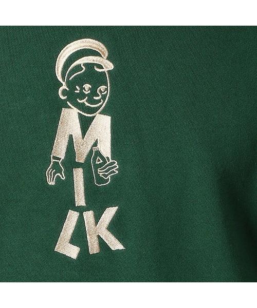 COMME CA COMMUNE(コムサコミューン)の「ミルクマン 刺繍 パーカ(パーカー)」|詳細画像