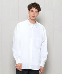 <H>BALLOON SLLEVE REGULAR COLLAR SHIRT/シャツ