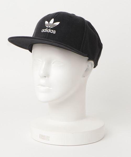 05c201b03af640 adidas(アディダス)のトレフォイル フラットキャップ [AC TREFOIL FLAT CAP] アディダスオリジナル