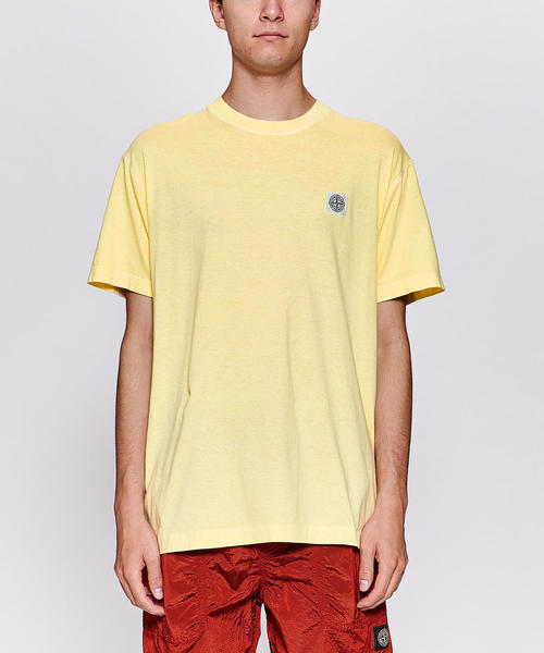 <STONE ISLAND> WASH LOGO TEE/Tシャツ