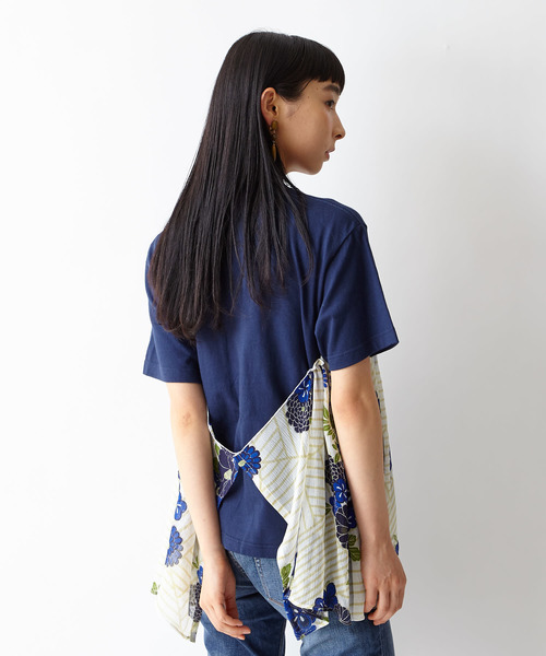 【舞扇】チュールTシャツ