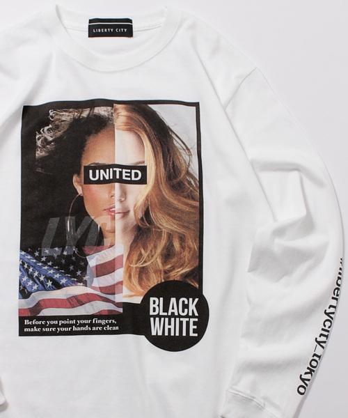【LIBERTY CITY/リバティーシティ】 [UNITED] ロングスリーブTシャツ