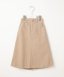 CIAOPANIC TYPY(チャオパニックティピー)の【ママとおそろい】甘編みツイルロングスカート(スカート)