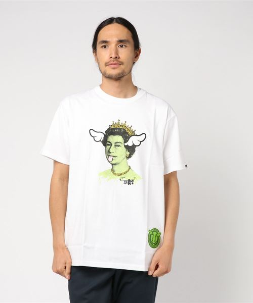 Sync. 【D*FACE】 TEE 'DOG SAVE THE QUEEN'