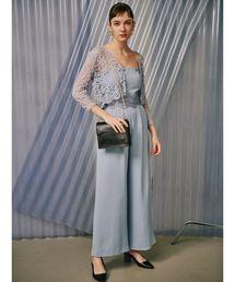 LAGUNAMOON(ラグナムーン)のLADYウェーブカッティングパンツドレス(ドレス)