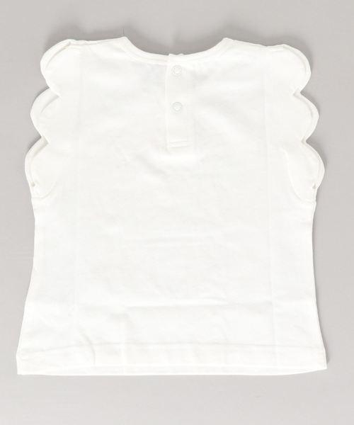SLAP SLIP/天竺スカラップロゴTシャツ