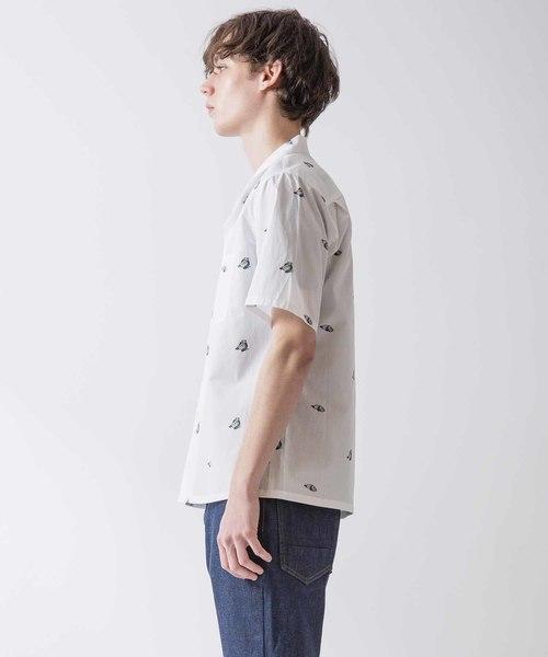 オープンカラーシャツ(PANDA)