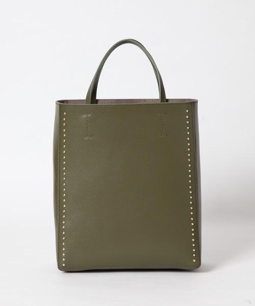 【セール】 【Gem.】Studs Leather Leather Mid Mid Tote/ スタッズトート(トートバッグ) Tote Gem.(ジェム)のファッション通販, 九州色:0d7472b6 --- 5613dcaibao.eu.org