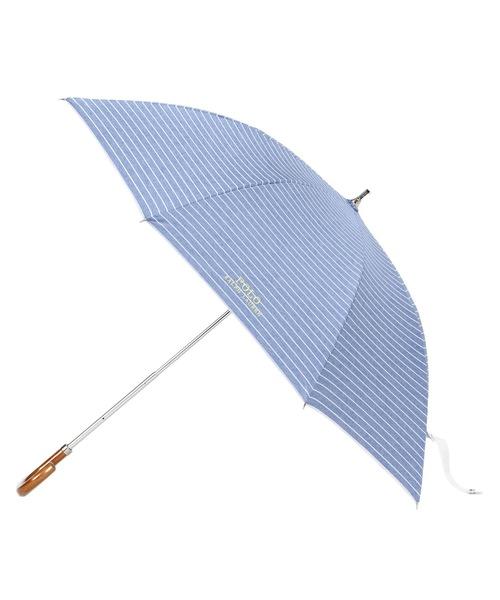 "POLO RALPH LAUREN(ポロラルフローレン)の「晴雨兼用傘 ""ロゴボーダー'(長傘)」|ブルー系その他2"