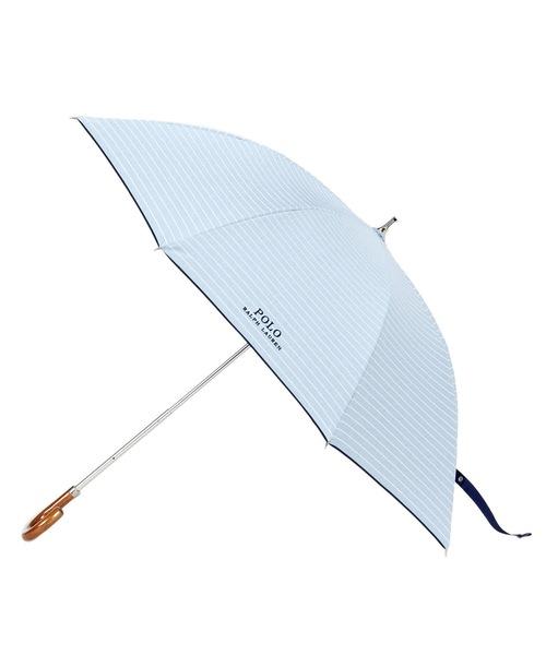 "POLO RALPH LAUREN(ポロラルフローレン)の「晴雨兼用傘 ""ロゴボーダー'(長傘)」|ブルー系その他3"