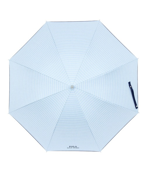"POLO RALPH LAUREN(ポロラルフローレン)の「晴雨兼用傘 ""ロゴボーダー'(長傘)」|詳細画像"