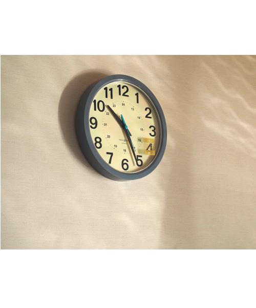 24-HOUR ROUND WALL CLOCK/24アワー ラウンド ウォール クロック