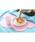 Jubilee(ジュビリー)の「クラウド シリコン ランチョンマット 【 2枚セット 】(キッチンツール)」|ピンク