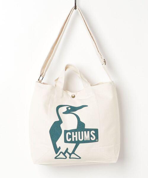 CHUMS(チャムス)の「Booby Canvas Shoulder(ショルダーバッグ)」|ダークグリーン