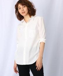 JET(ジェット)の【洗える】コットンベーシックシャツ(シャツ/ブラウス)