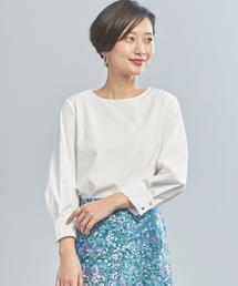 【WORK TRIP OUTFITS】★WTO BC 袖カフスタック ブラウス