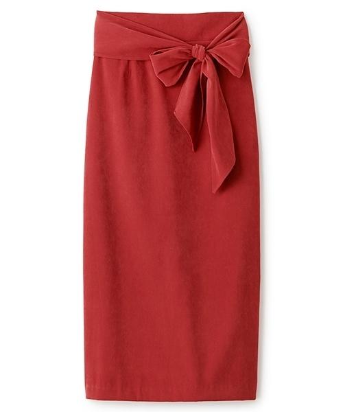 【LARME掲載】Iラインウエストリボンスカート