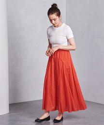 SFL  ロング フレア スカート ◆