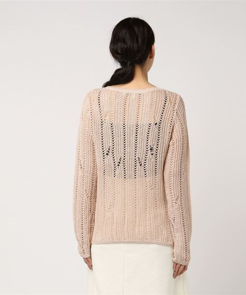 BAILEY LACE-UP SWEATER