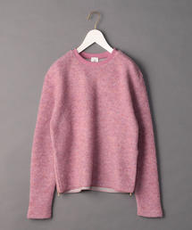 <6(ROKU)>PILE ZIP PULLOVER/カットソー