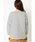 ikka(イッカ)の「ボーダー袖ボリュームプルオーバー(Tシャツ/カットソー)」|詳細画像