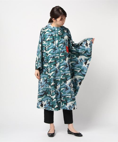 2019春の新作 【セール】 KLEIN【CALVIN KLEIN KLEIN PERFORMANCE】カモフラージュ CAMO ポンチョ(ナイロンジャケット) CAMO CALVIN KLEIN PERFORMANCE(カルバンクラインパフォーマンス)のファッション通販, 立花町:3840d74e --- 5613dcaibao.eu.org