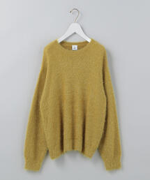 <6(ROKU)>SHAGGY KNIT/ニット