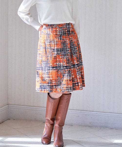 海外ブランド  モールチェックジャガードタック スカート(スカート) ANAYI(アナイ)のファッション通販, チマチョゴリ韓服韓国雑貨Yumekobo:abb0c60d --- aclatic.com