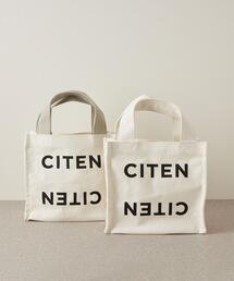 <CITEN(シテン)>CITENロゴプリント Sサイズ トートバッグ