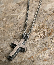 Magine(マージン)のWrapping texture cross necklace(ネックレス)