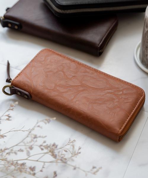 【DEVICE/デバイス】gland ラウンド長財布
