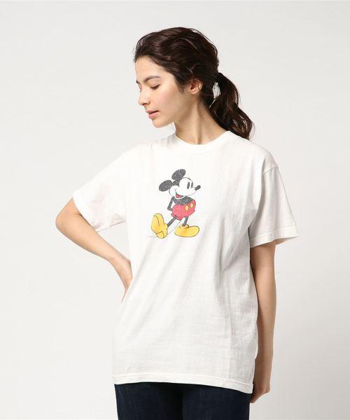 JACKSON MATISSE / ジャクソンマティス:Mickey Mouse Tee:Disney(ディズニー):JM17SS046-re[REA]
