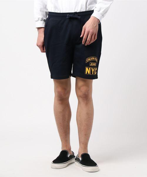【送料無料(一部地域を除く)】 【セール】【CALVIN KLEIN KLEIN JEANS JEANS】コットン】コットン ロゴ ハーフ ロゴ パンツ(パンツ)|Calvin Klein Jeans(カルヴァンクラインジーンズ)のファッション通販, 文林堂四宣斎:26643b7c --- wm2018-infos.de