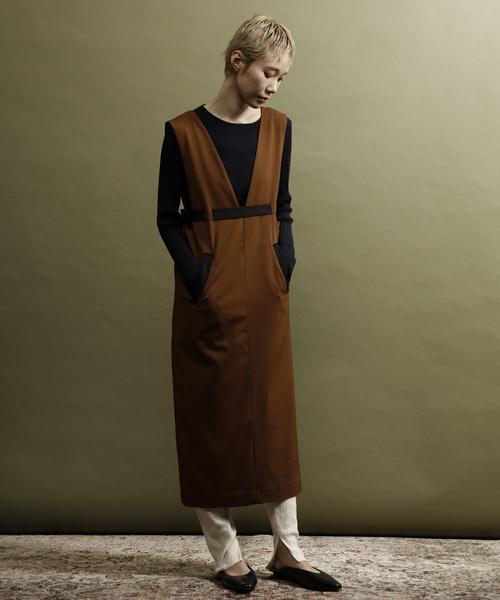 【期間限定送料無料】 Soffitto/配色使いジャンパースカート(ワンピース)|soffitto(ソフィット)のファッション通販, トヨナカシ:87364002 --- fahrservice-fischer.de