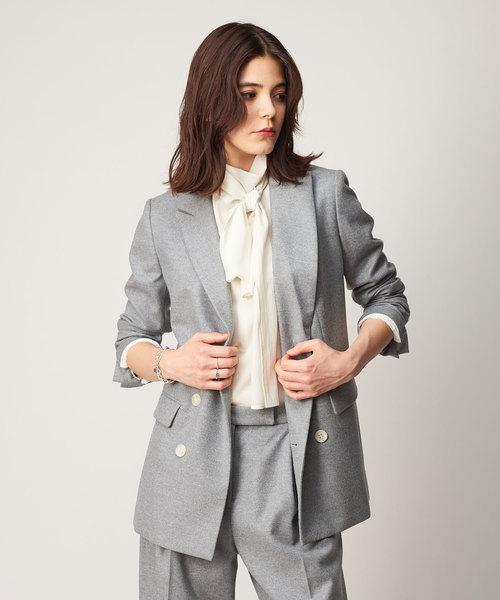 超人気高品質 フラノピークドラペルジャケット(テーラードジャケット) Whim Gazette(ウィムガゼット)のファッション通販, シモヘイグン:da67048a --- skoda-tmn.ru