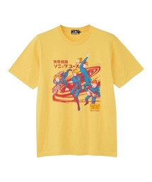 SONIC YOUTH/HYSTERIC COMICS Tシャツイエロー
