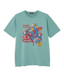 SONIC YOUTH/HYSTERIC COMICS Tシャツグリーン