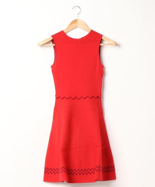 Ted Baker(テッドベーカー)の「160662-WMD-CLOEEI(ドレス)」|レッド
