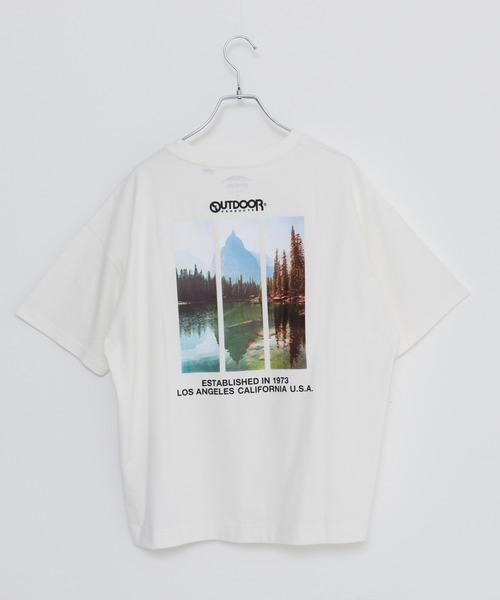 USAコットン ヘビーウェイトバックフォト(バックプリント)Tシャツ