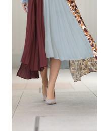 cawaii(カワイイ)のカラーと柄。目を惹く配色を愉しむプリーツスカート(スカート)
