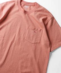 FREAK'S STORE(フリークスストア)のDANTON/ダントン CREW NECK POCKET TEE/ポケット半袖Tシャツ(Tシャツ/カットソー)