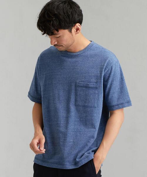 MC エンブロイダリーステッチ クルー 半袖 Tシャツ