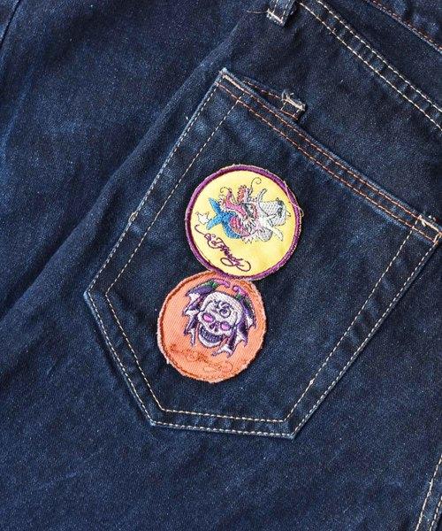 【ヴィンテージ古着】Ed Hardy/エド・ハーディー バック刺繍 デニムパンツ