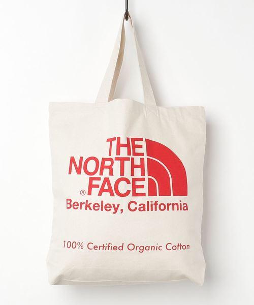 THE NORTH FACE(ザノースフェイス)の「THE NORTH FACE/ザ・ノースフェイス TNF Organic Cotton Tote オーガニックコットントート NM81971(トートバッグ)」|レッド