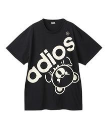BIG ADIOS BEAR オーバーサイズTシャツブラック