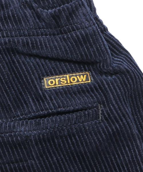 orSlow(オアスロウ)の「orSlow/オアスロウ UNISEX NEW YORKER CORDS コーデュロイイージーパンツ(その他パンツ)」|詳細画像