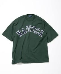 """NAUTICA/ノーティカ """"TOO HEAVY"""" Arch Logo S/S Tee/トゥーヘヴィー アーチロゴショートスリーブTシャツ/ワッペン Tシャツ"""