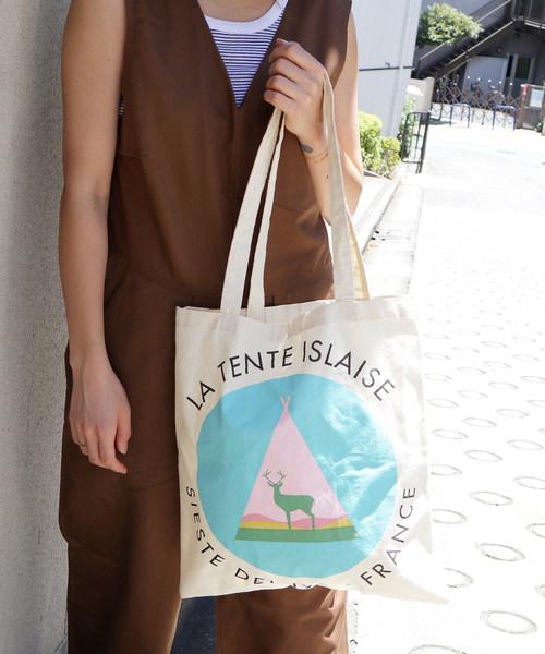 ∴フランス発【LA TENTE ISLAISE/ラ・タント・イレーズ】ティーンエイジトートバッグ