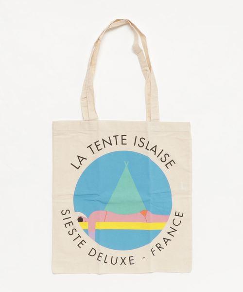 フランス発【LA TENTE ISLAISE/ラ・タント・イレーズ】ティーンエイジトートバッグ
